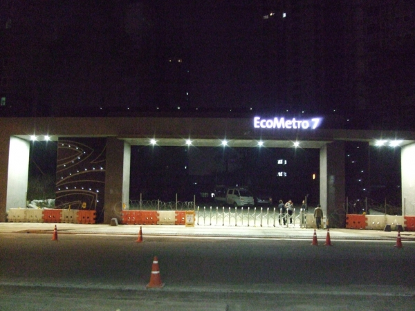 Hanwha Construction-Incheon  EcoMetro 10 blocks specialized construction,